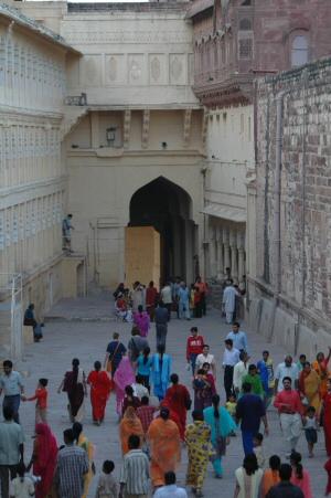 Citadelle de Jodhpur - Rampe d'accès